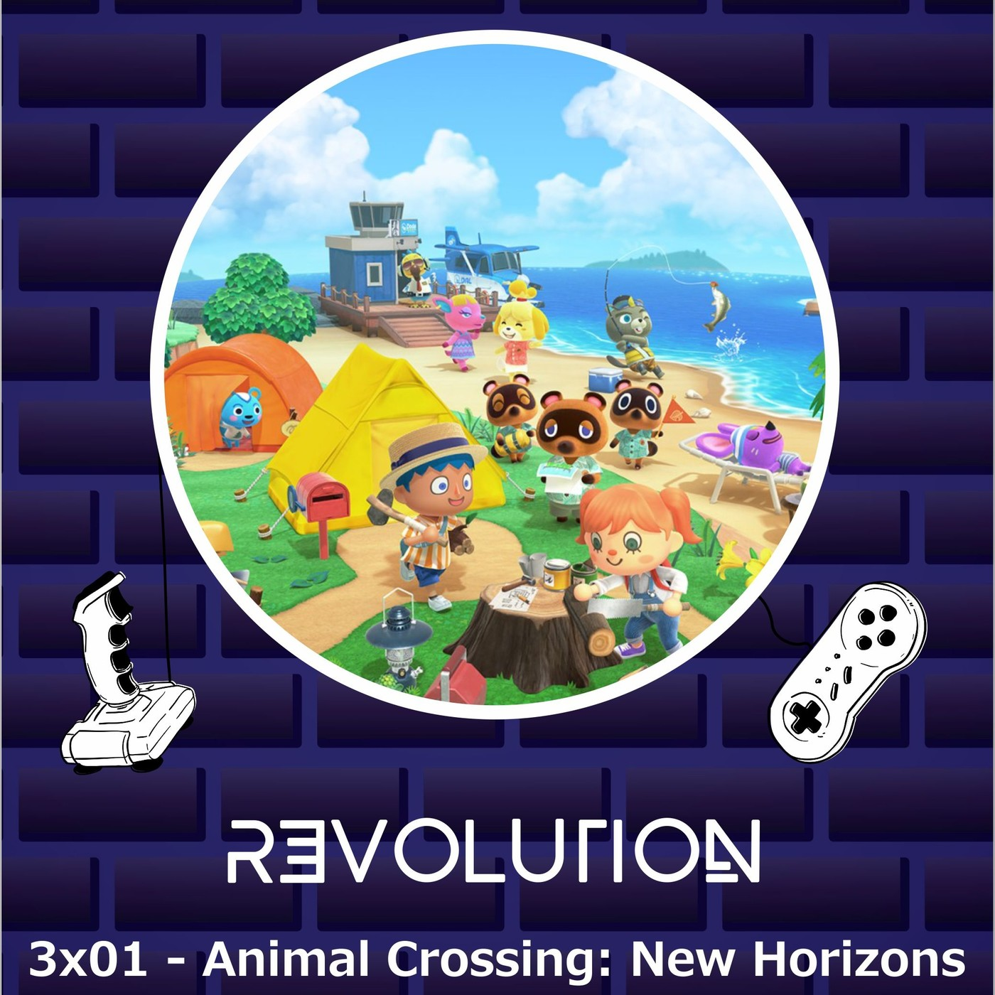Revolution Podcast – 3×01 – Animal Crossing New Horizons