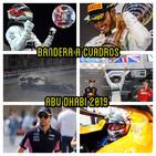 F1 BANDERA A CUADROS 3x28 - analisis gp abu dhabi 2019 f1