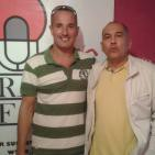 Luis Rivero en la Sección G. David Peralta del Batiburrillo de Radiofaro Canarias
