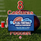El Dedal de 8 Costuras #4: Entrevista a Daniel Castañón. Entrenador de la selección femenina española de flag football