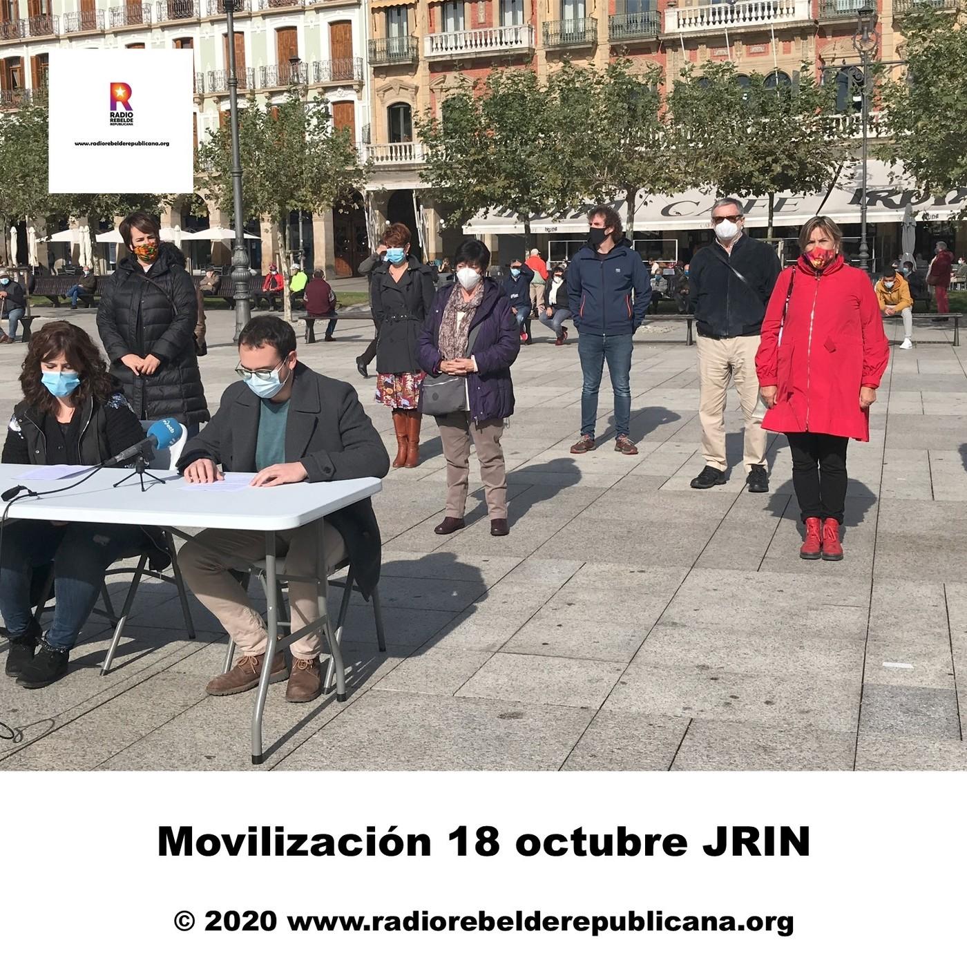 Movilización 18 octubre JRIN