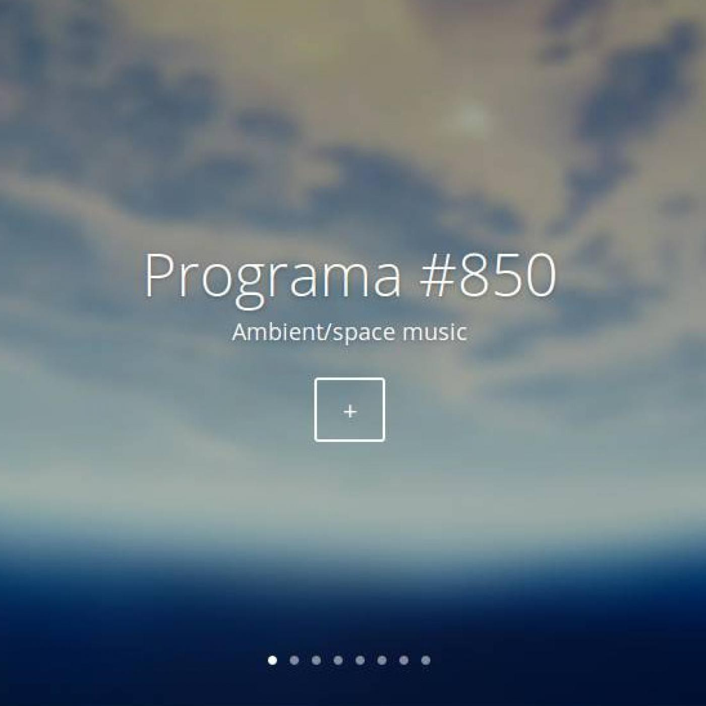 #850, ambient/space music