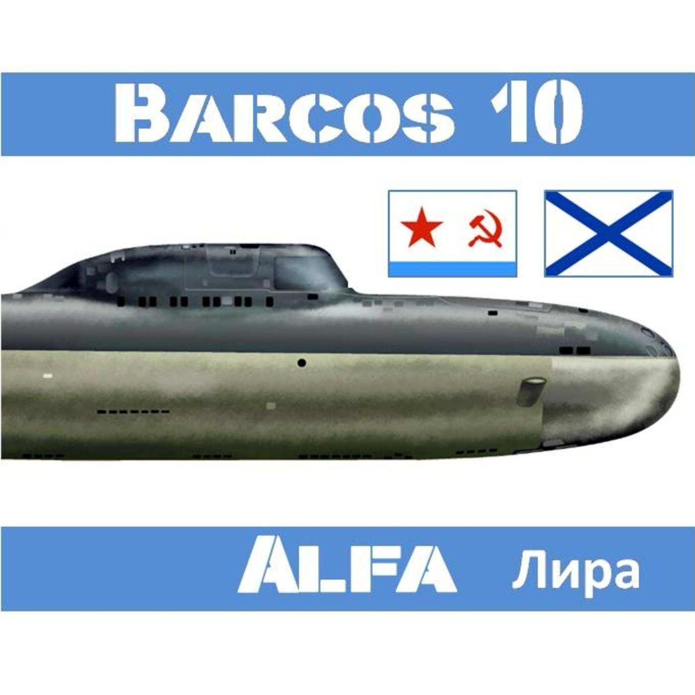 B-10#32 Clase Alfa los Cazadores de Titanio