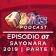 #07: Sayonara 2019 (parte 1)