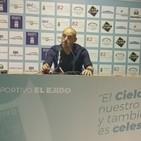 Rueda de Prensa David Cabello Linares 0-1 CD El Ejido