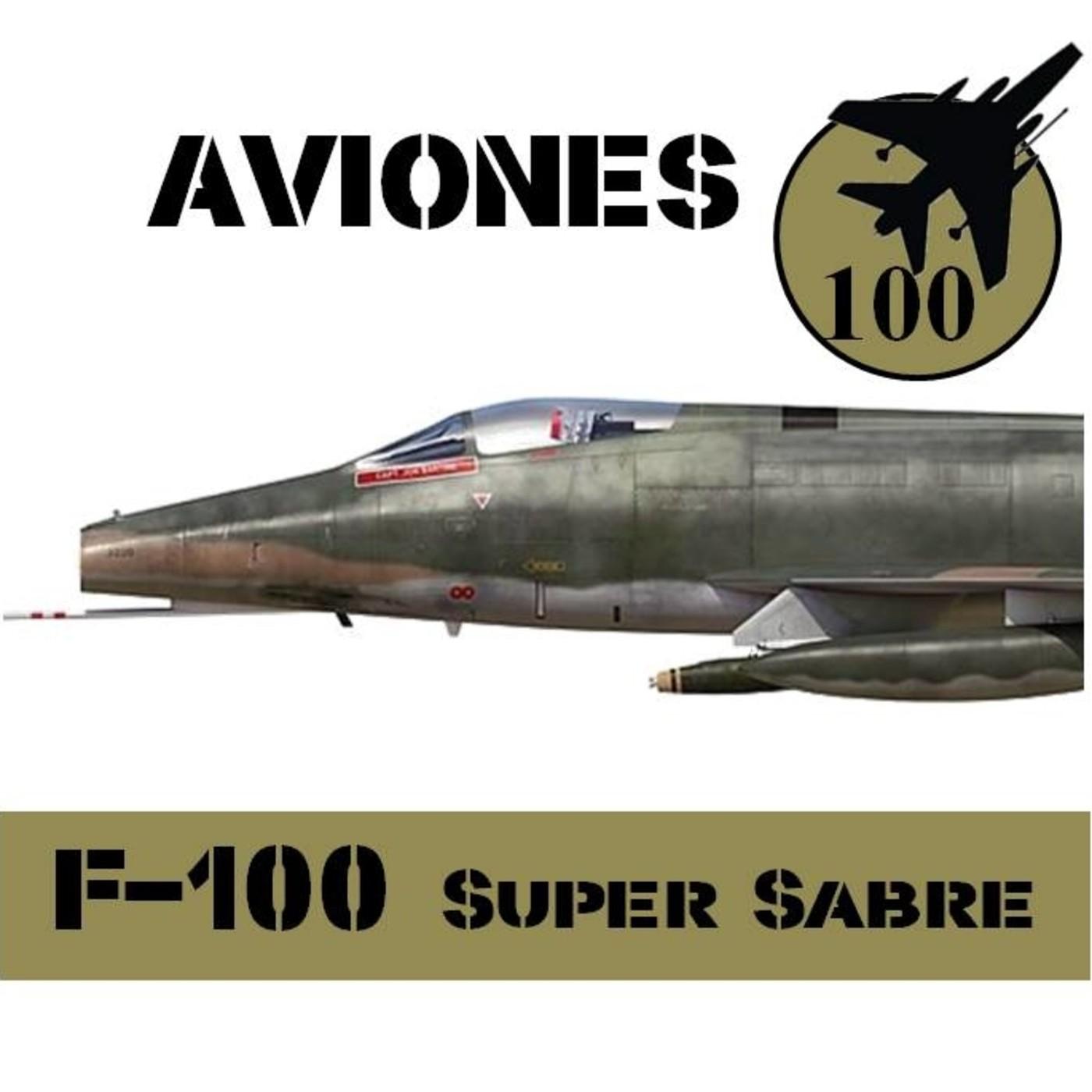Aviones 10 #74 F-100