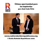 Última oportunidad para las izquierdas por José Luis Úriz
