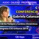 GABRIELA CATANZANO - El Fin de los Tiempo y Cambios Climáticos - Congresos CIO Uritorco