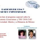 Mundo Universitario Convocatoria 2018-2