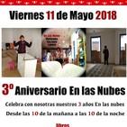 """Tercer Aniversario """"En Las Nubes""""."""