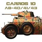 CARROS 10 #25 Autoblinda AM 40/41/43 - Exploración en el Frente