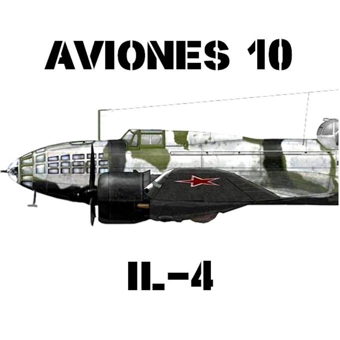 AVIONES 10 #85 Ilyushin Il-4 el bombardero soviético