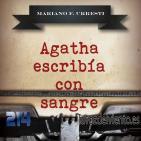 Agatha escribía con Sangre con Mariano Fernandez Urresti 1
