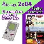 2X04 - El padre de GameBoy & recomendaciones de series