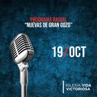 Nuevas de Gran Gozo 19 Octubre