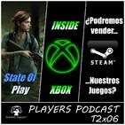 Players Podcast T2x06. Repasamos STATE OF PLAY & INSIDE XBOX. Debate Steam y la segunda mano. Y mucho más...