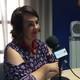 La Presidenta del Parlamento de Navarra, Ainhoa Aznárez, en los micrófonos de Radio Cierzo.