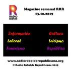 Magazine semanal RRR - 13.10.2019