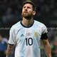 Lionel Messi en zona mixta luego del empate ante Paraguay