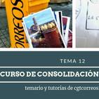 #TemarioCGT2019 · Tema12 AUDIO · 03.10.2019