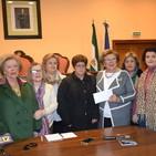 Mujeres en Igualdad entrega la recaudación solidaria de la carpa del Carnaval