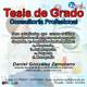 Asesoría Diagnostica Tesis de grado Pregrado Licenciatura Castellano OSO