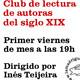 Maldito Libro: T01x35. Club de lectura de autoras del siglo XIX. 16/06/2018