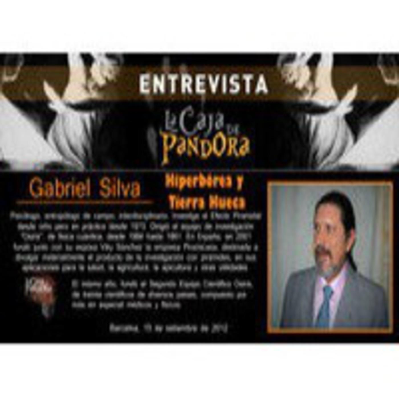 Entrevista a Gabriel Silva - Hiperborea y tierra hueca.