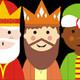 Reyes Magos con respeto mutuo antes, durante y después.