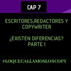 Diferencias entre redactor, copywriter y escritor ¿realmente existen?