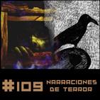 #109 Relatos de Terror. El cuervo de Edgar Allan Poe y El hombre que hizo el mundo de Richard Matheson