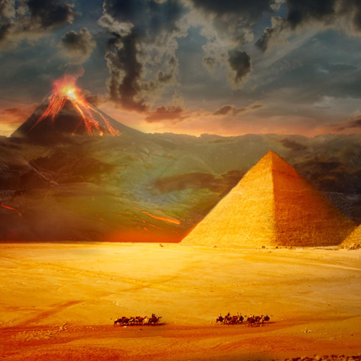 Tesoros al descubierto T6: El volcán apocalíptico de Egipto