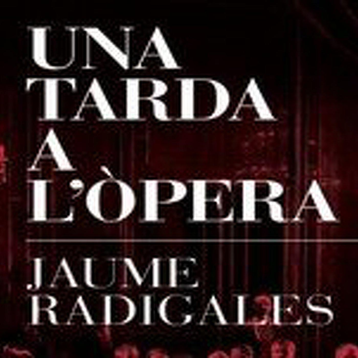 Jaume Radigales parla del llibre 'Una tarda a l'òpera'