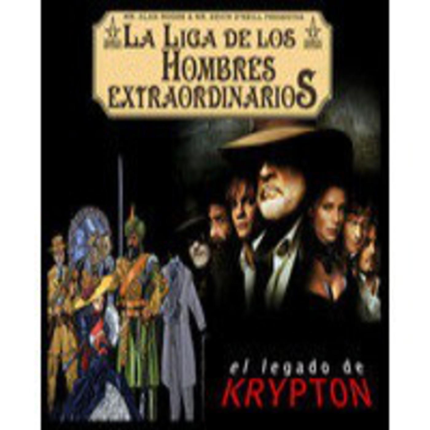 El legado de Krypton 39 - La liga de los hombres extraordinarios (comics y película)