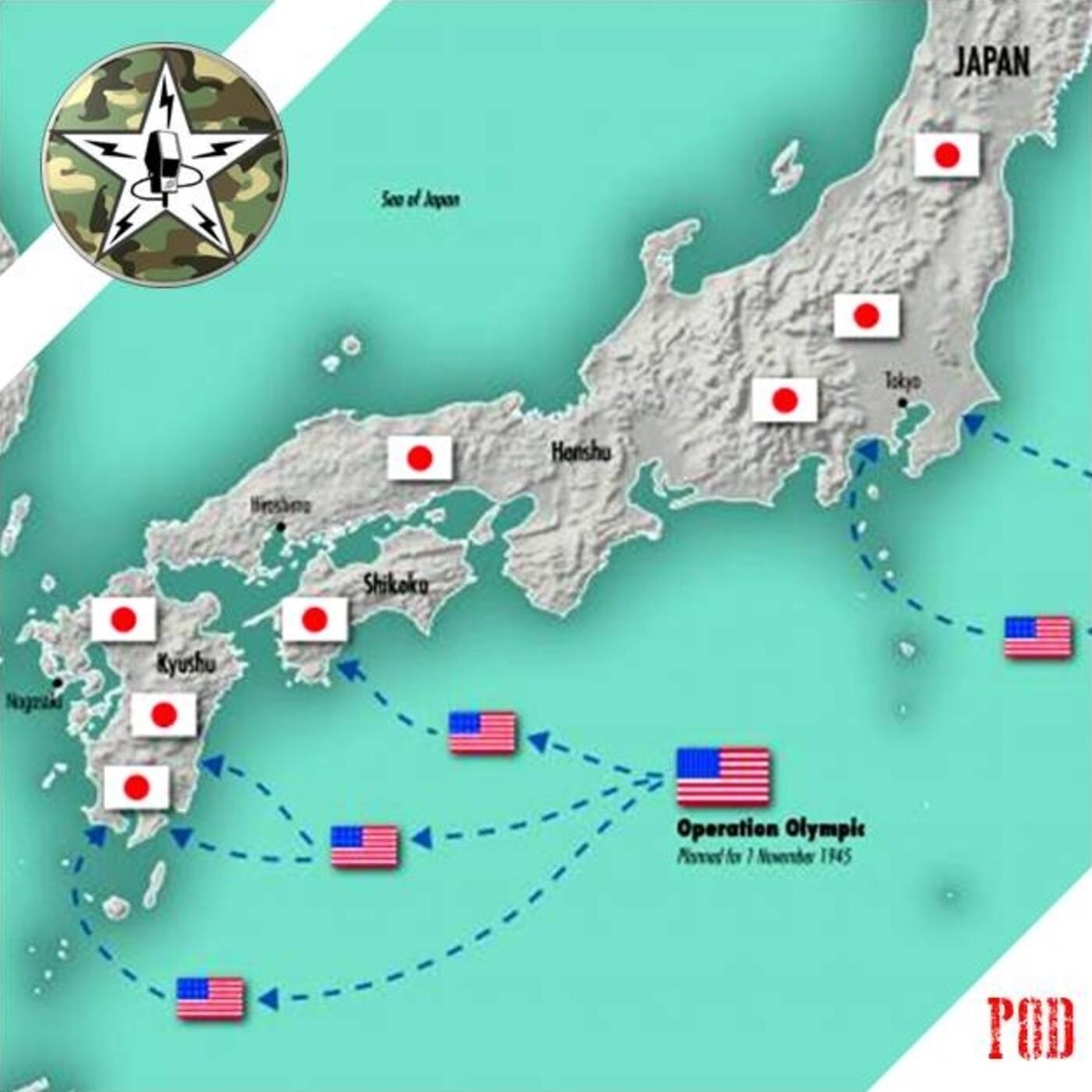 POD# Downfall, planes de invasión del Japón