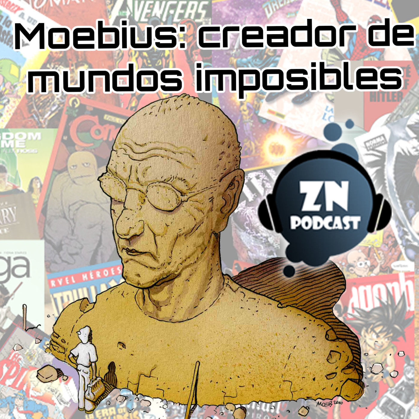 ZNPodcast #83 - Moebius: creador de mundos imposibles