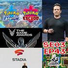 Google Stadia y el desastre|La quiniela de los Games Awards|Pokémon Espada vende 6MM|Phil Spencer da la cara
