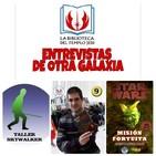 La Biblioteca del Templo Jedi presenta - Entrevista a Alberto López Calvo