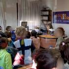 Los alumnos de 2º de Primaria del CEIP 'Castilla y León' visitan Radio Aguilar