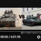 PTMyA T4E1: carro Merkavá MkI vs. T-72M