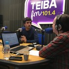 Entrevista a Paulu Lobete en Teiba FM