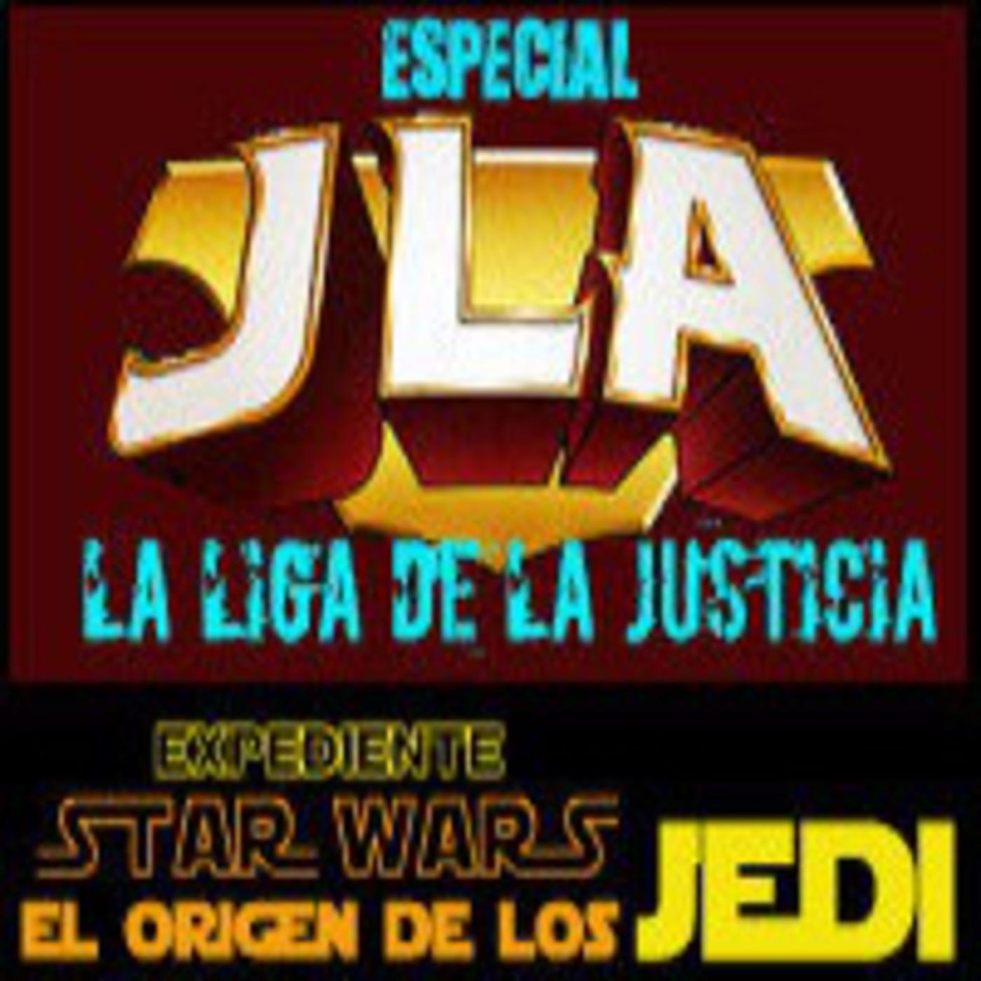 LODE 3x12 (tamaño reducido) JLA La Liga de la Justicia + el origen de los JEDI