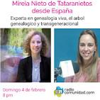 Genealogia Viva con Mireia Nieto (4 de febrero 2018)