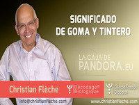 Significado de GOMA Y TINTERO en Descodificación Biológica por Christian Flèche - Biodescodificación