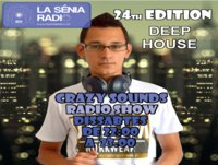 Joan Barrera DJ - Crazy Sounds Radio Show 24 @LaSeniaRadio