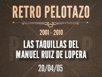 Las taquillas del Manuel Ruíz de Lopera
