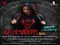 El Llamado de la Bestia Radio programa, Entrevista con DANCE NOW BITCH 30/04/2015