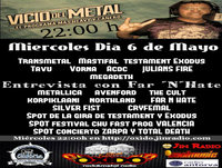 Programa Vicio del metal nº 199 dia 06-05-15