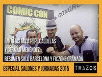 Trazos 09/05/15: Especial Salones, Entrevistas a Germán Menéndez y a Pepe Caldelas