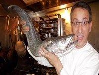 Oído cocina con Juanma Zamorano, crema de espárragos y boniatos fritos.